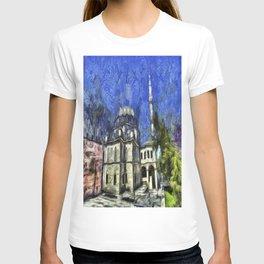 Istanbul Mosque Van Gogh T-shirt
