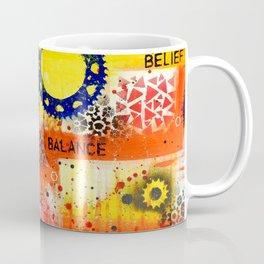 """Belief Confidence Attitude Commit"" Original design by PhillipaheART Coffee Mug"
