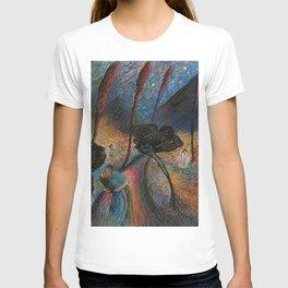 Die Blaue Reiterin - The Star-crossed Lovers landscape painting by Marianne Von Werefkin T-shirt
