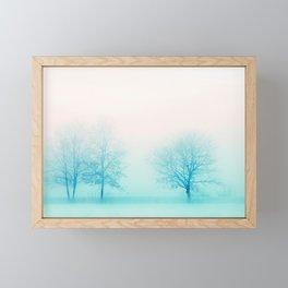 When in Winter Framed Mini Art Print