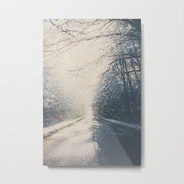 driving home for Christmas ... Metal Print