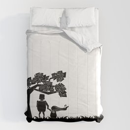 The child and the robot Comforters