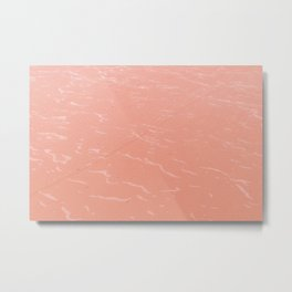 Pink sea - colorful and mindful - fine art photography  Metal Print