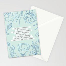 Ave Maria, gratia plena... Stationery Cards