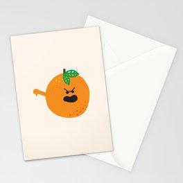 Vulgar Fruit // Obscene Orange Stationery Cards