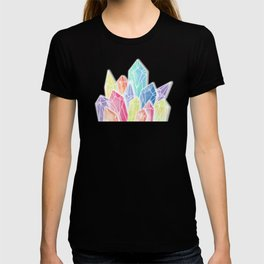 Crystals Blue T-shirt