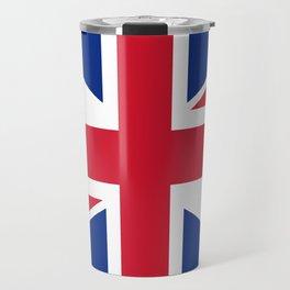 UK Flag, 3:5 Scale Travel Mug