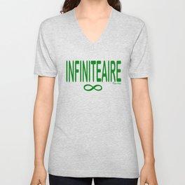 INFINITEAIRE - Rasha Stokes Unisex V-Neck