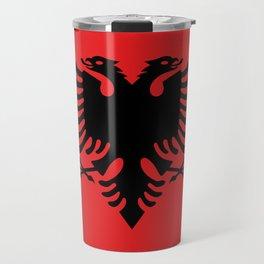 Flag of Albania - Albanian Flag Travel Mug