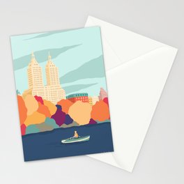 New York - Central Park Stationery Cards