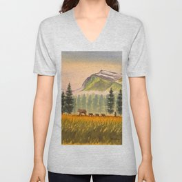 Bears On The Move - Hey Wait For Me! Unisex V-Neck