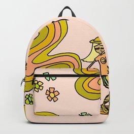 girl gang // dogtown and z girls // skateboard girl power by surfy birdy Backpack