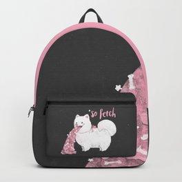 Fido, That's So Fetch! (In Grey) Backpack