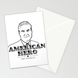 American Hero   Robert Swan Mueller III Shirt Stationery Cards