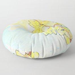 Forsythia Floor Pillow