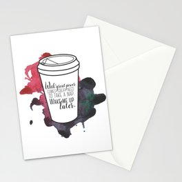 With great power... [Percy Jackson] Stationery Cards