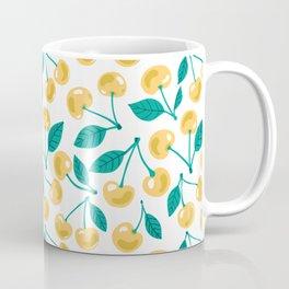 Yellow cherries  Coffee Mug