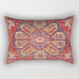 Heriz Azerbaijan Northwest Persian Carpet Print Rectangular Pillow