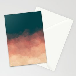 Retro Clouds Stationery Cards