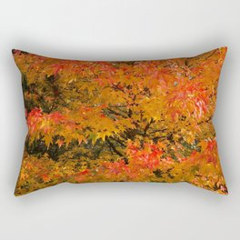 Maple Flames Rectangular Pillow