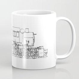 Sketchy train art Coffee Mug