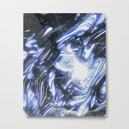 Blueberry Space Metal Print
