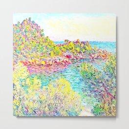 MONET : Landscape Near Montecarlo Metal Print