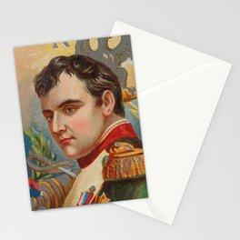 Vintage Napoleon Bonaparte Portrait Illustration (1888) Stationery Cards