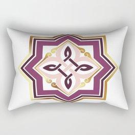 Armenian Genocide Rosette Purple Ania Rectangular Pillow