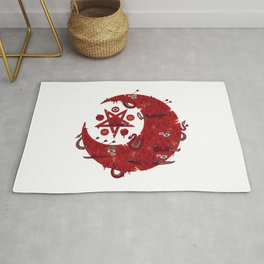 The Blood Moon Compels You to Fuck Shit Up Rug
