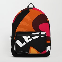 Scared Cat - Gay Lesbians LGBT Pussy Cat Backpack