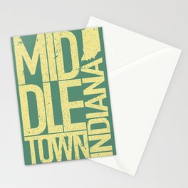 Middletown, Indiana Stationery Cards