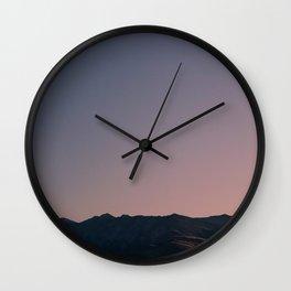 Lake Tekapo Sunrise, Mackenzie Basin Wall Clock