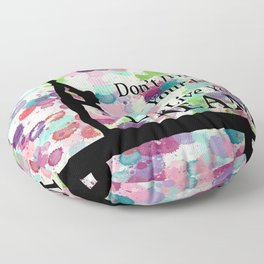 Gymnastics Live Your Dream Design Floor Pillow