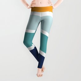 Sunrise Retro 70's Rainbow Leggings