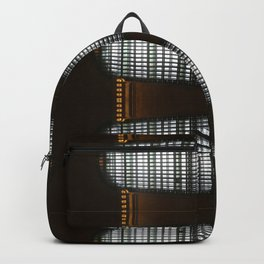 Grand Central Window (pattern) Backpack