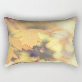 Autumns Yellow Rectangular Pillow