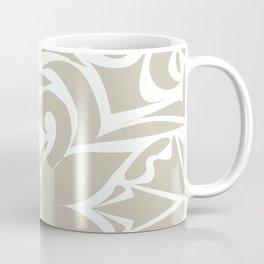 grey floral pattern Coffee Mug