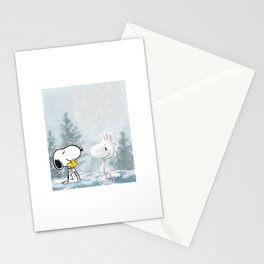 Snoopy and Woodstock  Stationery Cards