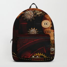 Steampunk, wonderful clockwork Backpack