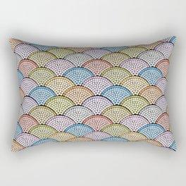Mosaic Archs - Bright Night Rectangular Pillow