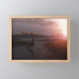Solitary Vigil Framed Mini Art Print