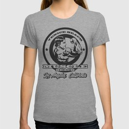 Arnold Schwarzenegger Venice Beach Muscle Beach T-shirt