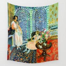 Henri Matisse The Moorish Screen Wall Tapestry