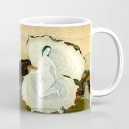 """The Birth of the Pearl"" by Edmund Dulac Coffee Mug"