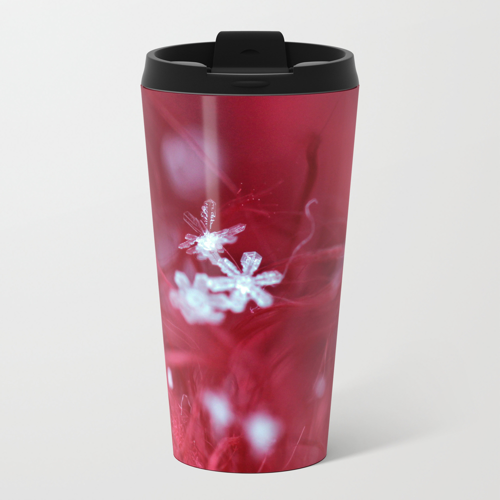 Red Snowflake Travel Cup TRM832893