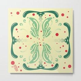 Pattern, wallpaper, forme, colori, flowers Metal Print