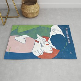 Romeo and Juliet, William Shakespeare Rug