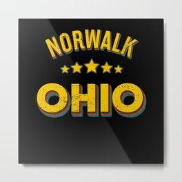 Norwalk Ohio Metal Print