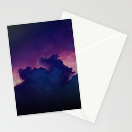 Bad Ass Purple Sky Stationery Cards